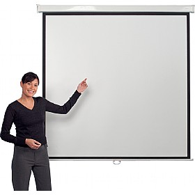 Manually Operated Projector Screens