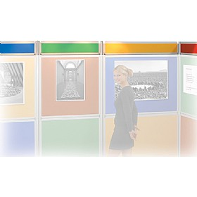Busyfold 1800 Display Header Panels £16 -