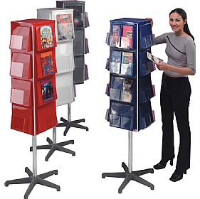 4 Sided Revolving Leaflet Dispensers £405 -