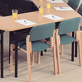 Easyfold® Folding Trapezoidal Meeting Tables £0 - Folding Tables
