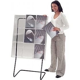 Freestanding All Clear Leaflet Dispensers £261 - Display/Presentation