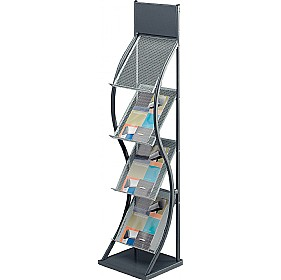Wave Leaflet Dispenser £81 - Display/Presentation