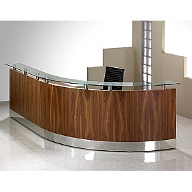 Sven Fulcrum Veneer Professional Bespoke Reception £1771 - Reception Furniture