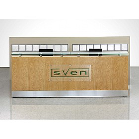 Fulcrum Professional Reception Graphics Panels (Etching Not Included) £506 - Reception Furniture