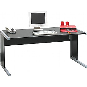 Exceptionnel Black Office Desks On Black White Rectangular Home Office Desks Black White  Home