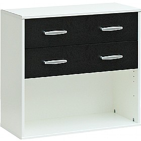 Black & White - Optional Drawers For Bookcases £83 - Home Office Furniture