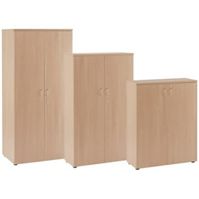 NEXT DAY Wooden Cupboards £404 - Next Day Office Furniture