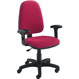 Zoom High Back Operator Chairs £75 - Office Chairs