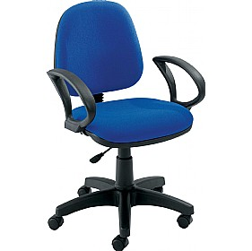 Zoom Medium Back Operator Chairs £71 - Office Chairs