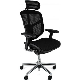 Enjoy Mesh Office Chairs (With Headrest) £406 - Office Chairs