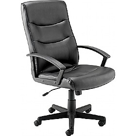 Canasta Soft Touch Leather Look Manager Chair £95 - Office Chairs