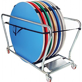 Gopak™ Round Table Trolley £0 - Folding Tables