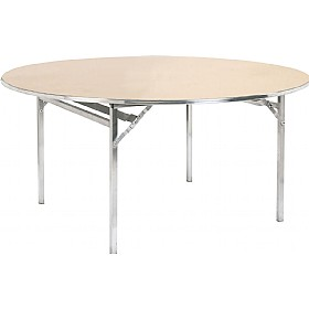 Circular Aluminium Folding Table £254 - Meeting Room Furniture
