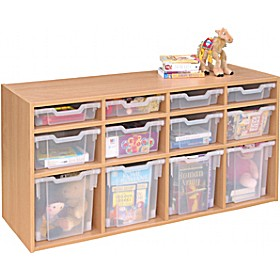 12 Tray Variety Static Storage £291 - Education Furniture