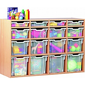 16 Tray Variety Static Storage £0 - Education Furniture