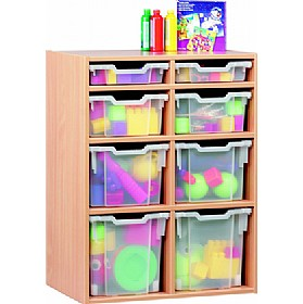 8 Tray Variety Static Storage £201 - Education Furniture