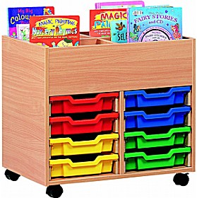 4 Compartment 8 Tray Kinderbox £149 - Education Furniture