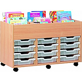 6 Compartment 12 Tray Kinderbox £0 - Education Furniture