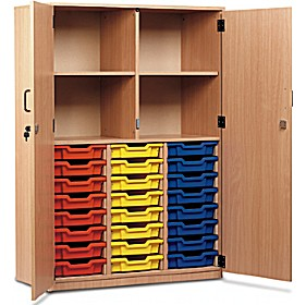 Large Volume Tray Storage Cupboard £0 - Education Furniture