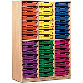 Large Volume Open Tray Storage £384 - Education Furniture