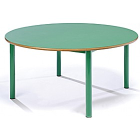 Chunky Circular Nursery Tables £100 - Education Furniture