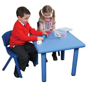 Polyethylene Childrens Tables Square £0 - Education Furniture