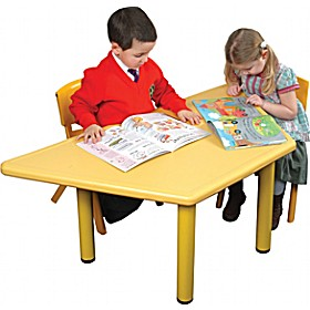 Polyethylene Childrens Tables Trapezoidal £68 - Education Furniture
