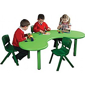 Incroyable Polyethylene Childrens Tables Kidney £0   Education Furniture