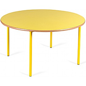 Crush Bent Round Nursery Tables £0 - Education Furniture