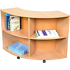 Curve In Unit Beech £181 - Education Furniture