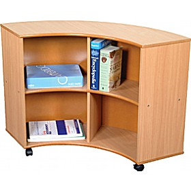 Curve Out Unit Beech £181 - Education Furniture