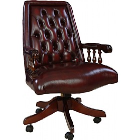 Antique Replica Ascot Chair £690 - Home Office Furniture
