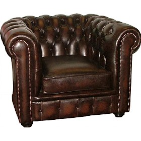 Antique Chesterfield Chair