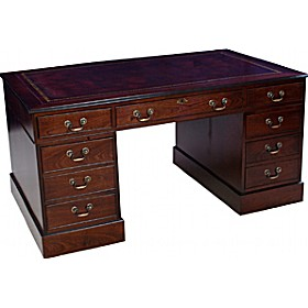 Antique Replica Traditional Desk £510 - Home Office Furniture