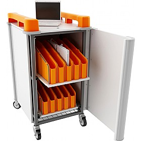 LapCabby Mini  20V- 20 Laptop Vertical Store and Charging Trolley £830 - Office Cupboards