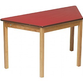 Primary Trapezoidal Classroom Tables £107 - Education Furniture
