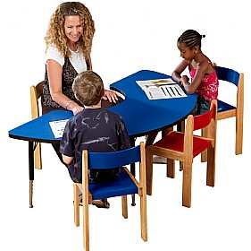 Adjustable Height Arc Top Table £0 - Education Furniture
