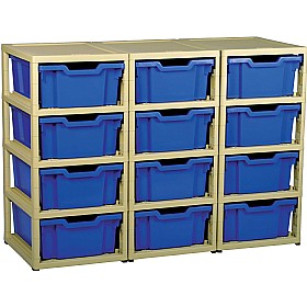 GratStack 3 Column Unit With 12 Deep Trays £0 -