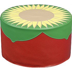 Back To Nature Sunflower Stool £0 - Education Furniture