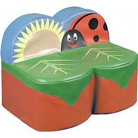 Back To Nature Ladybird Sofa £0 -
