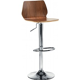 Estrella Tall Stool Walnut £123 - Bistro Furniture