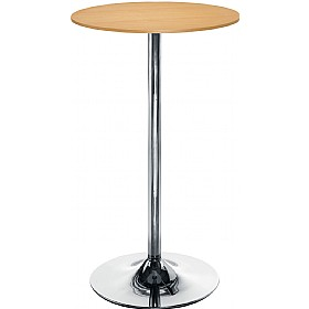 Estrella Tall Table Beech £174 - Bistro Furniture