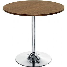 Pablo Bistro Table Walnut £177 - Bistro Furniture