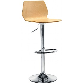 Estrella Tall Stool Beech £139 - Bistro Furniture