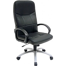 Lumbair Executive Leather Faced Chair £213 - Office Chairs