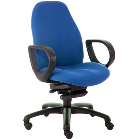 Obusforme Medium Back Office Chairs With Fixed Arms £476 - Office Chairs