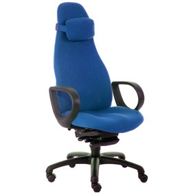 Obusforme High Back Office Chairs With Fixed Arms £455 - Office Chairs