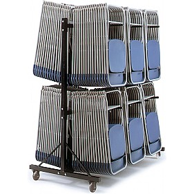 High Hanging Chair Trolley 3 Rows Chair Trolleys
