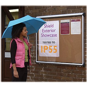 Express Stock Exterior Shield Showcases £201 - Display/Presentation