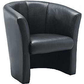 Renoir Leather Look Tub Chair £142 - Reception Furniture